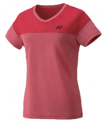 Yonex T-shirt Ladies 16385 Dark Red